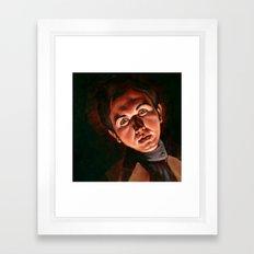 Spooky Pooky Framed Art Print