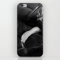 Back seat, windows up iPhone & iPod Skin