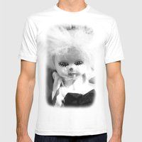 Dolls In Grandma's Attic… Mens Fitted Tee White SMALL