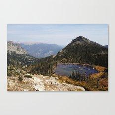 Rocky Mountain Lakes Canvas Print