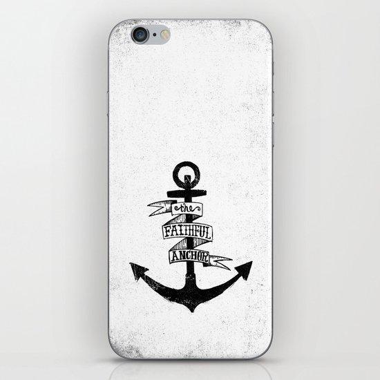 The Faithful Anchor iPhone & iPod Skin