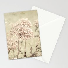 Antique Hydrangeas -- Dreamy Pastel Autumn Botanical Stationery Cards