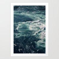 Whirling Art Print