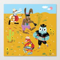 The Animal Jamboree Canvas Print
