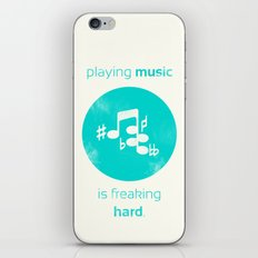 Playing Music is Freaking Hard. iPhone & iPod Skin