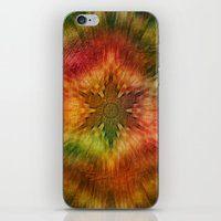 Psychedelic time warp iPhone & iPod Skin
