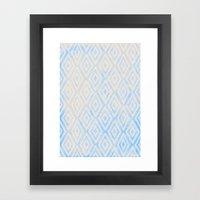 Summer Fade: Deep Sea Framed Art Print