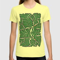 Alone 2 Womens Fitted Tee Lemon SMALL