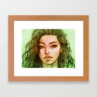 Adrianne 02 Framed Art Print