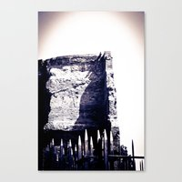 Roman Archaeological remains Canvas Print