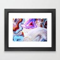 Agate, A Vivid Metamorph… Framed Art Print