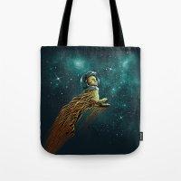 Catstronaut Tote Bag