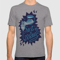 Do it! Mens Fitted Tee Athletic Grey SMALL