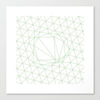 #111 A disruption in the force – Geometry Daily Canvas Print