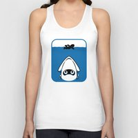 The Great White Blooper Unisex Tank Top