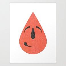 Shy smile Art Print