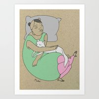 Sleeping With Your Best … Art Print