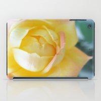 Yellow Rose iPad Case