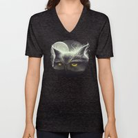 Owl & The Moon Unisex V-Neck
