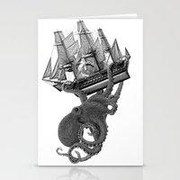 Release the Kraken Stationery Cards