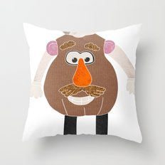 Mr Potato Head Throw Pillow