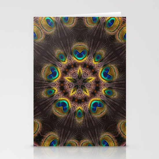 The Eye of the Peacock Stationery Card