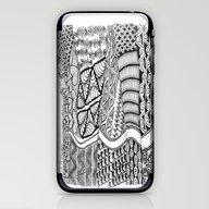 Zentangle Fields Of Drea… iPhone & iPod Skin