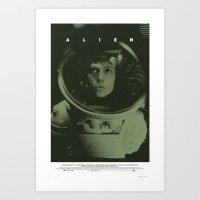 Alien Movie Poster Art Print