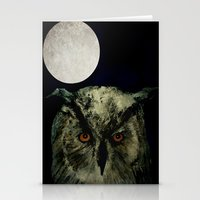 The Night Owl Part 2 Stationery Cards