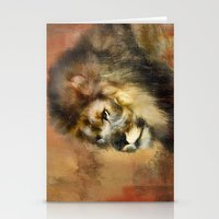 Resting King Stationery Cards