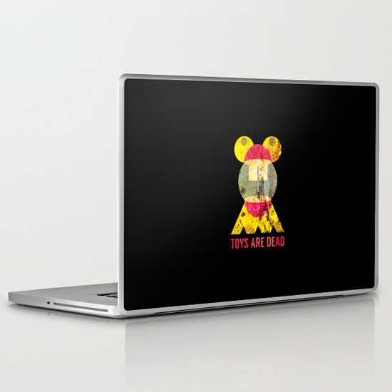 Toys Are Dead. Laptop & iPad Skin