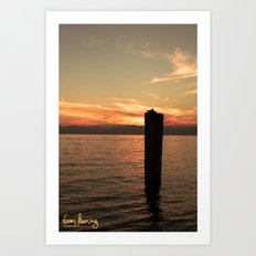 Italian Waters  Art Print