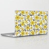 Daffodil Daze - Yellow &… Laptop & iPad Skin
