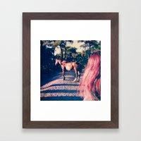 Fugue V Framed Art Print