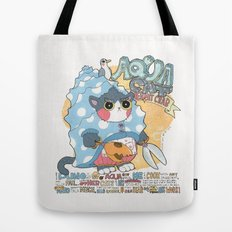 Aqua cat_Puno Tote Bag