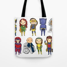 Super Cute Heroes: X-Men Tote Bag
