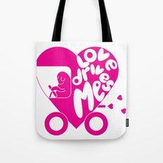Love Drives Me Tote Bag