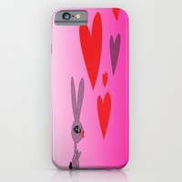 iPhone & iPod Case featuring Lovy Bunny by AmberRinaldi