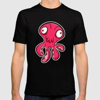 Squiddy! Mens Fitted Tee Black SMALL