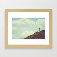 The Lighthouse  Framed Art Print