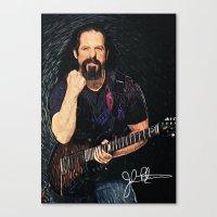 John Petrucci Canvas Print