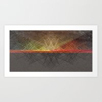Remnants Of The Past Art Print