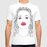 Mademoiselle Mens Fitted Tee White SMALL