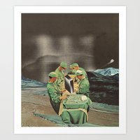Psychic Surgeons Art Print