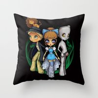 Oz  Throw Pillow