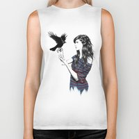 Dark Wings Biker Tank