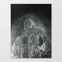 The Subtle Creep Canvas Print