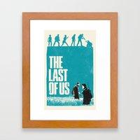 The Last Of Us Framed Art Print