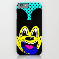 MOUSE SICK.  (On Turqoise). iPhone 6 Slim Case
