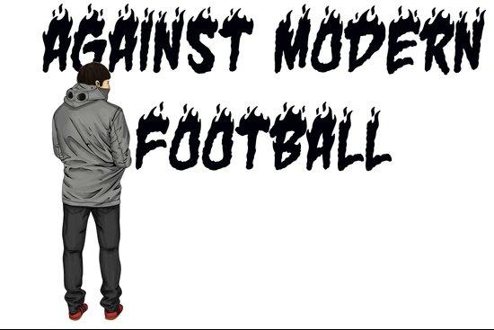 AGAINST MODERN FOOTBALL Art Print